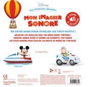 Disney Baby ; mes premiers imagiers ; mon imagier sonore ; les véhicules - 4ème de couverture - Format classique
