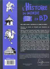 L'histoire du monde en BD t.2 ; de l'éveil de la Chine à la chute de Rome - 4ème de couverture - Format classique