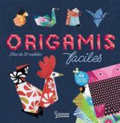 Origamis faciles - Couverture - Format classique