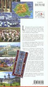 Roumanie - 4ème de couverture - Format classique