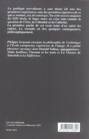 Gerard de nerval ,la mort d'andros - 4ème de couverture - Format classique