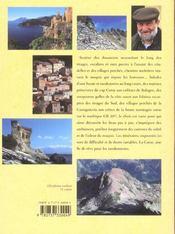 La Corse par chemins et sentiers - 4ème de couverture - Format classique