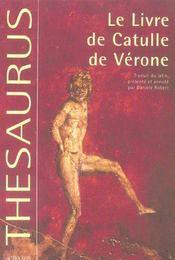 Le livre de catulle de verone - Intérieur - Format classique
