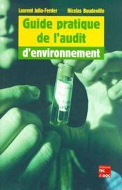 Guide pratique de l'audit d'environnement - Couverture - Format classique