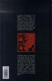 B.P.R.D. T.5 ; la flamme noire - 4ème de couverture - Format classique