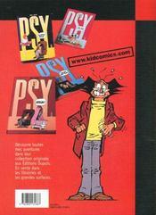 Les Psy T.1 ; Quel Est Votre Probleme - 4ème de couverture - Format classique