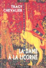 La dame à la licorne - Couverture - Format classique