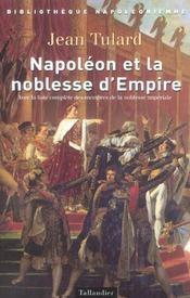 Napoleon Et La Noblesse D Empire - Intérieur - Format classique
