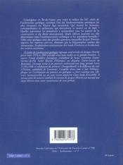 A L'Aube De L'Architecture Gothique - 4ème de couverture - Format classique