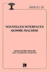 Nouvelles interfaces homme machine serie arago 18 - Couverture - Format classique