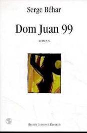 Dom juan 99 - Couverture - Format classique