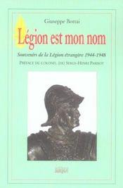 Legion est mon nom - Intérieur - Format classique
