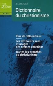 Dictionnaire du christianisme - Couverture - Format classique
