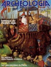 Archeologia n°114 janvier 1978 - Couverture - Format classique