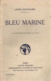 Bleu marine - Couverture - Format classique