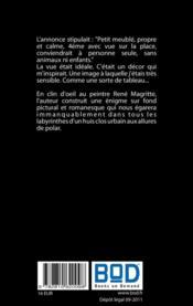 Journal d'un pigeon voyageur ; clin d'oeil au peintre René Magritte - 4ème de couverture - Format classique