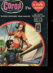 Carail - Bandes Dessinees Pour Adultes - Trimestriel N° 26 - La Fille Du Capitaine - Couverture - Format classique