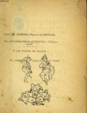 Petit Carnet De Chant. Camp De Jeunesse Franco-Autrichien / Kleines Lieder Heft, Französisch-Osterreichisches Jungendlager. - Couverture - Format classique