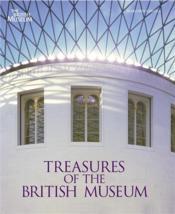 Treasures of the british museum /anglais - Couverture - Format classique