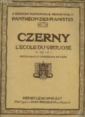 L'Ecole Du Virtuose - Couverture - Format classique