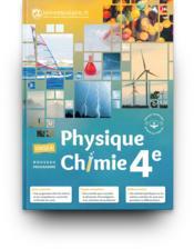 Physique-chimie 4e, edition 2017 - Couverture - Format classique