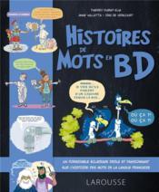 Histoire de mots en BD - Couverture - Format classique