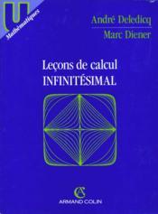 Lecons Calcul Infinitesimal - Couverture - Format classique