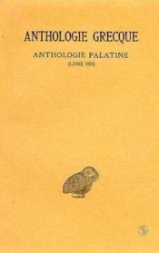 Anthologie grecque t.6 ; L8 - Couverture - Format classique