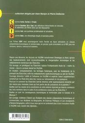 Etats-Unis Mexique Canada Trois Voies Vers Une Integration (Alena) - 4ème de couverture - Format classique