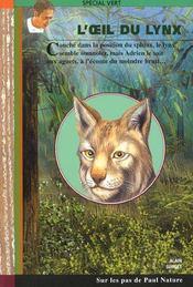 L'oeil du lynx - Intérieur - Format classique