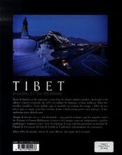 Tibet d'oubli et de mémoire - 4ème de couverture - Format classique