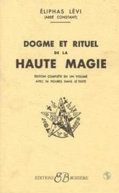 Dogme et rituel haute magie - Couverture - Format classique