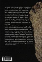 L'Art des cavernes - 4ème de couverture - Format classique