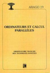 Ordinateurs et calculs paralleles arago 19 - Couverture - Format classique