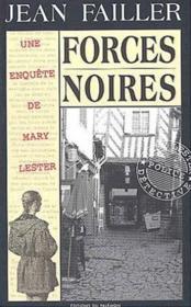 MARY LESTER T.20 ; forces noires - Couverture - Format classique