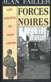 MARY LESTER T.20 ; forces noires - Intérieur - Format classique