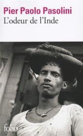 L'odeur de l'Inde - Couverture - Format classique