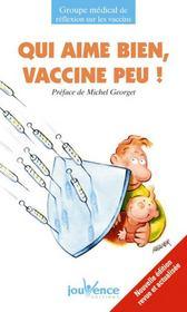 Qui aime bien, vaccine peu ! t.132 - Couverture - Format classique