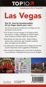 Top 10 ; Las Vegas - 4ème de couverture - Format classique