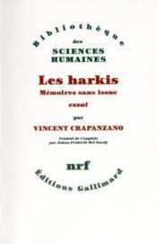 Harkis ; mémoires sans issue - Couverture - Format classique