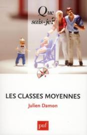 Les classes moyennes - Couverture - Format classique
