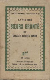 Collection Vies Des Hommes Illustres N° 35. La Vie Des Soeurs Brontë. - Couverture - Format classique