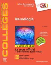 Neurologie ; réussir les ECNi (5e édition) - Couverture - Format classique