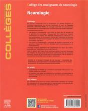 Neurologie ; réussir les ECNi (5e édition) - 4ème de couverture - Format classique