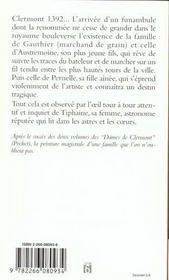 Les Dames De Clermont T.3 Ces Messieurs De Clermont - 4ème de couverture - Format classique