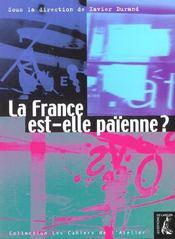Cahiers de l'atelier ; la France est-elle païenne ? - Intérieur - Format classique