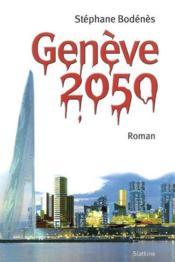 Geneve 2050 - Couverture - Format classique