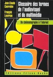 Glossaire Des Termes De L'Audiovisuel - Intérieur - Format classique