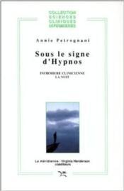 Sous le signe d'Hypnos - Couverture - Format classique