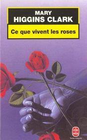 Ce Que Vivent Les Roses - Intérieur - Format classique